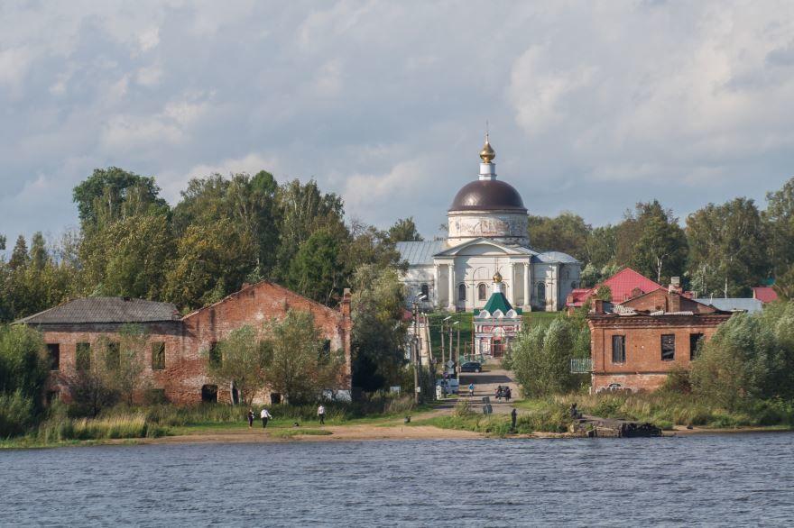 Никольский собор город Мышкин