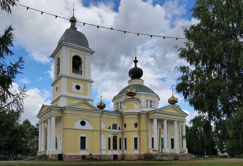 Собор Успения Пресвятой Богородицы город Мышкин