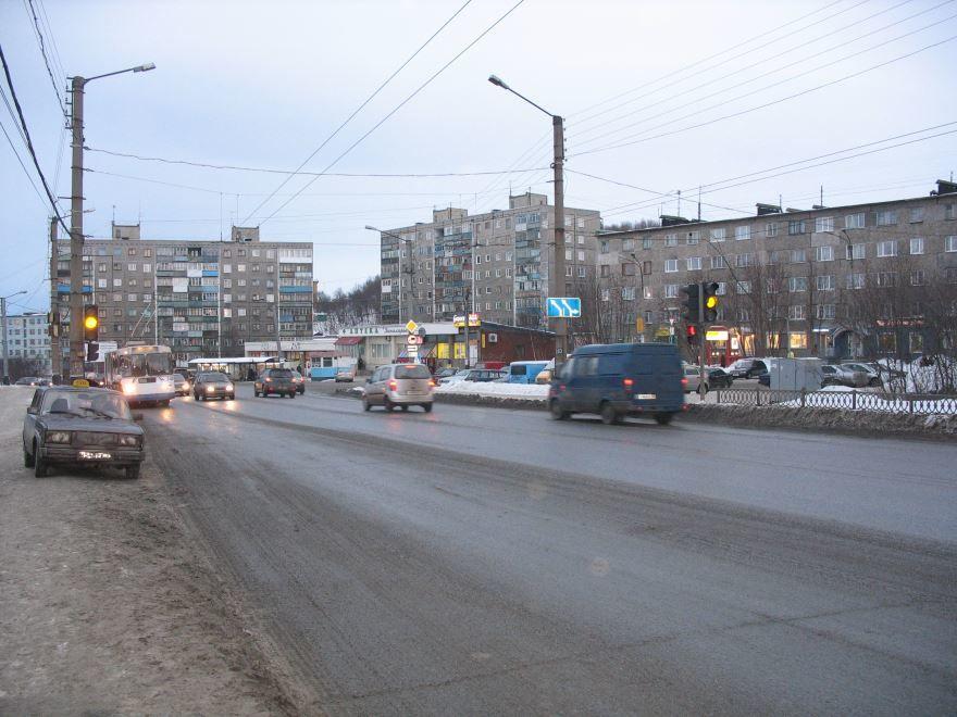 Проспект Героев Североморцев город Мурманск