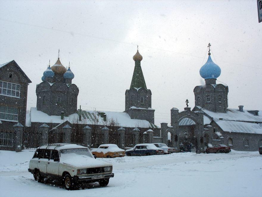 Свято-Николаевский собор город Мурманск