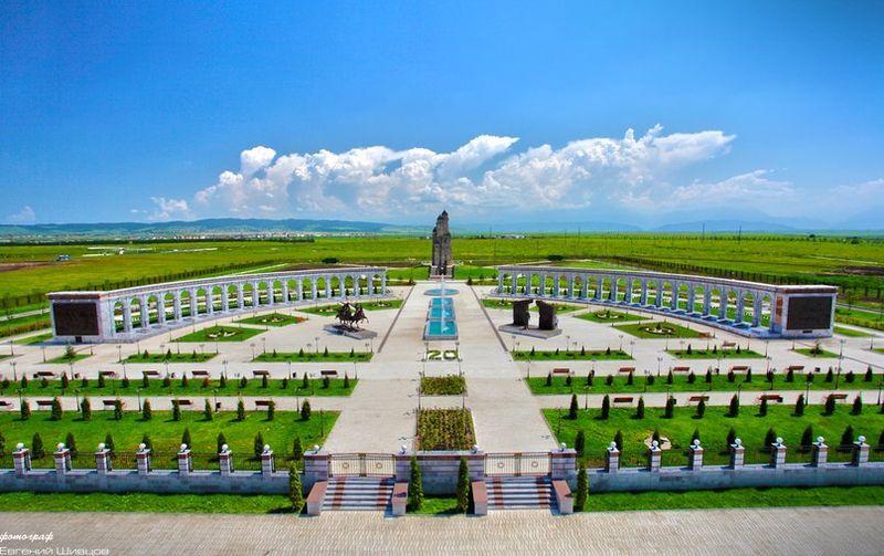 Мемориал Памяти и Славы город Назрань