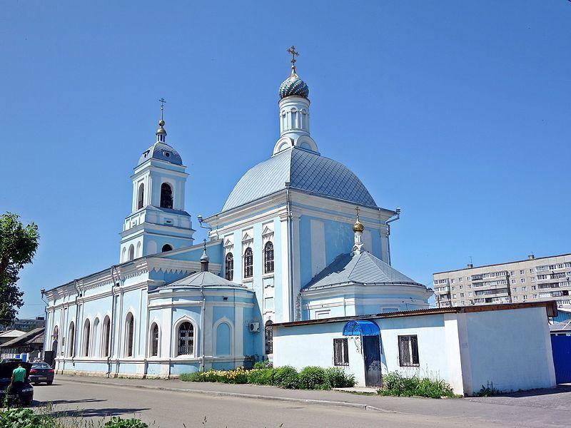 Смотреть красивое фото Церковь в городе Муром