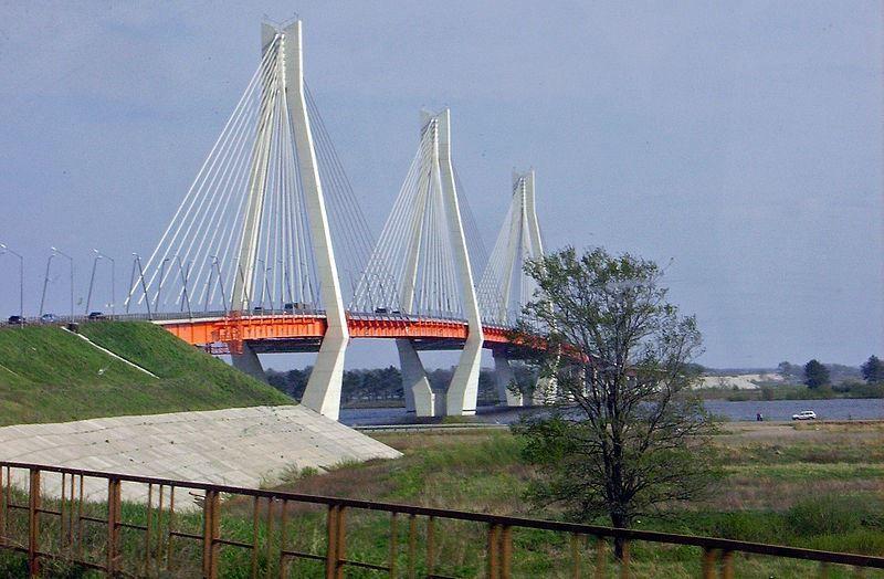 Новый мост через реку Оку город Муром 2019