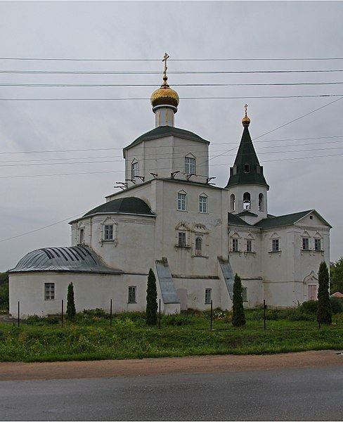 Церковь Вознесения Господня город Мценск