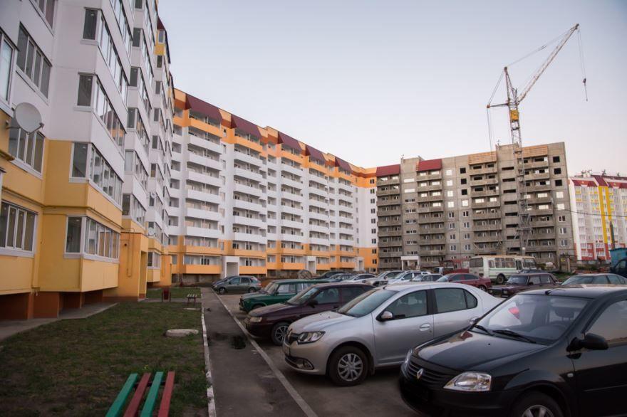 Смотреть красивое фото Новостройки в городе Мценск