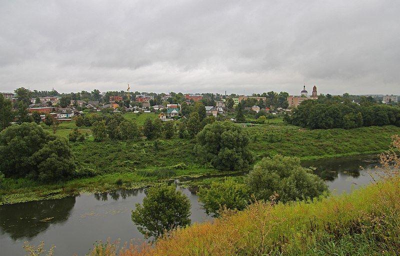 Смотреть лучшее фото панорама города Мценск в хорошем качестве
