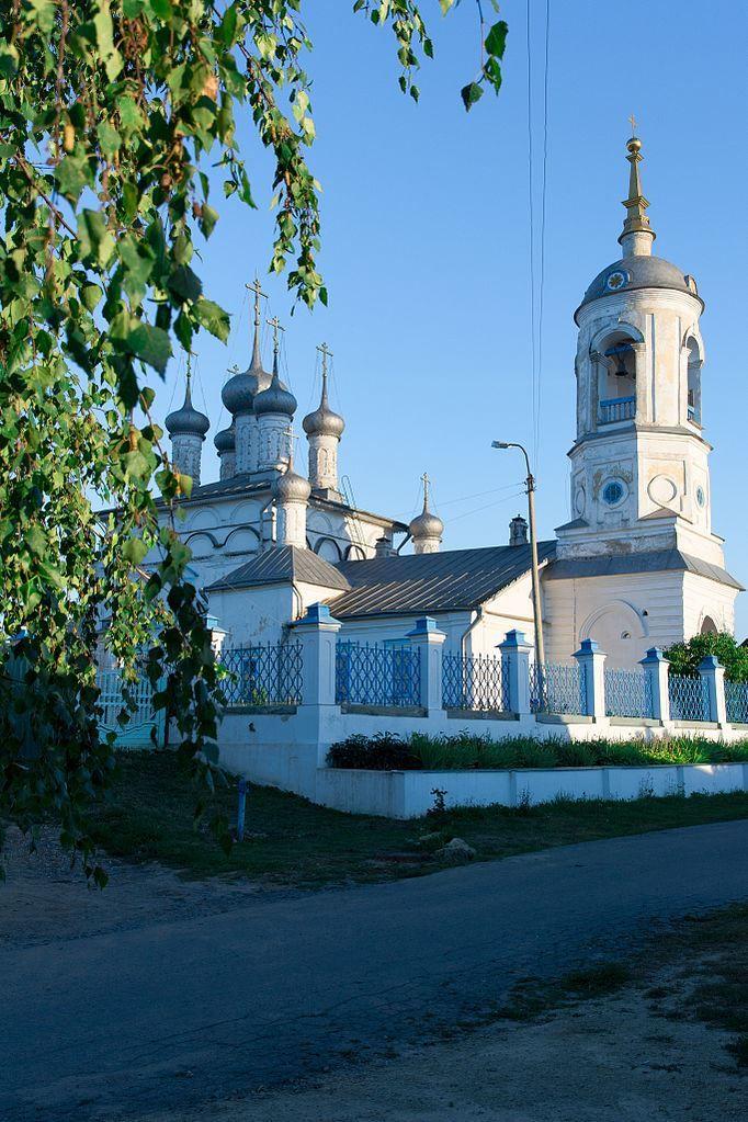 Введенская церковь город Мценск