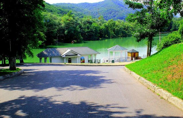 Озеро Курортное город Нальчик
