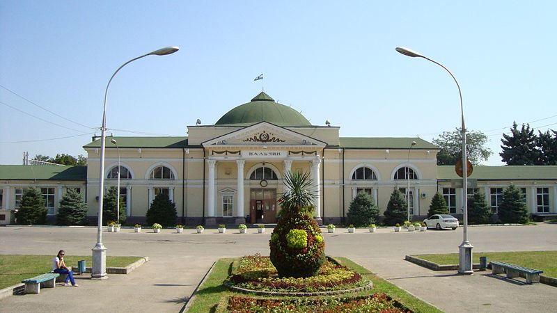 Железнодорожный вокзал город Нальчик