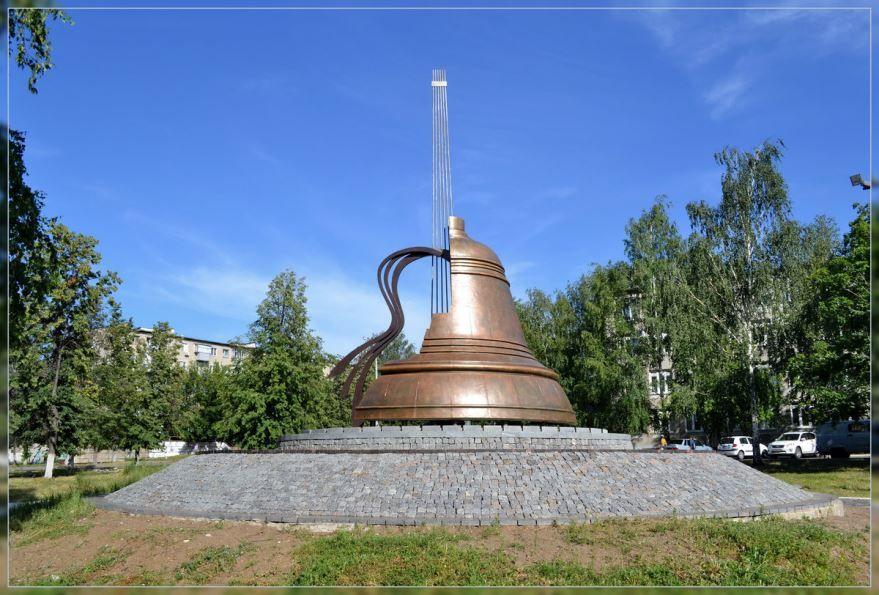Памятник Владимиру Высоцкому город Набережные челны