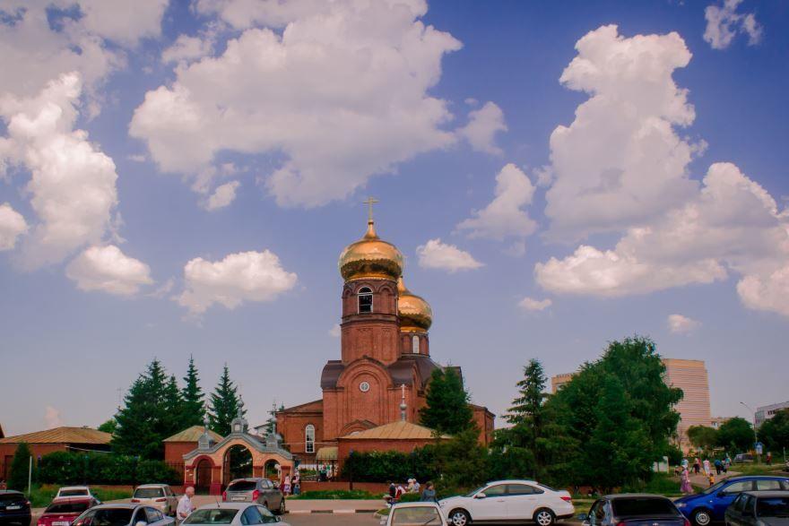 Церковь Вознесения город Набережные челны