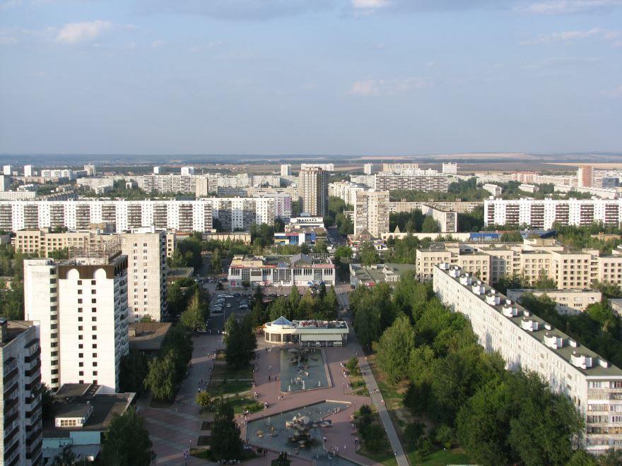 Смотреть лучшее фото города Набережные челны вид сверху