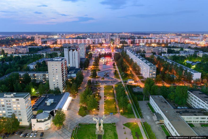 Скачать онлайн бесплатно красивое фото города Набережные челны в хорошем качестве