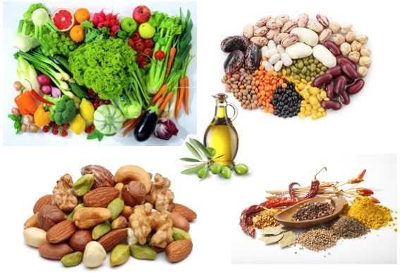 Полезные натуральные продукты питания