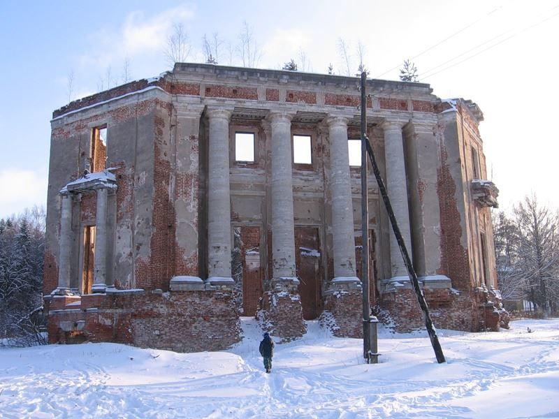 Главный дом усадьбы Демидовых город Наро-Фоминск