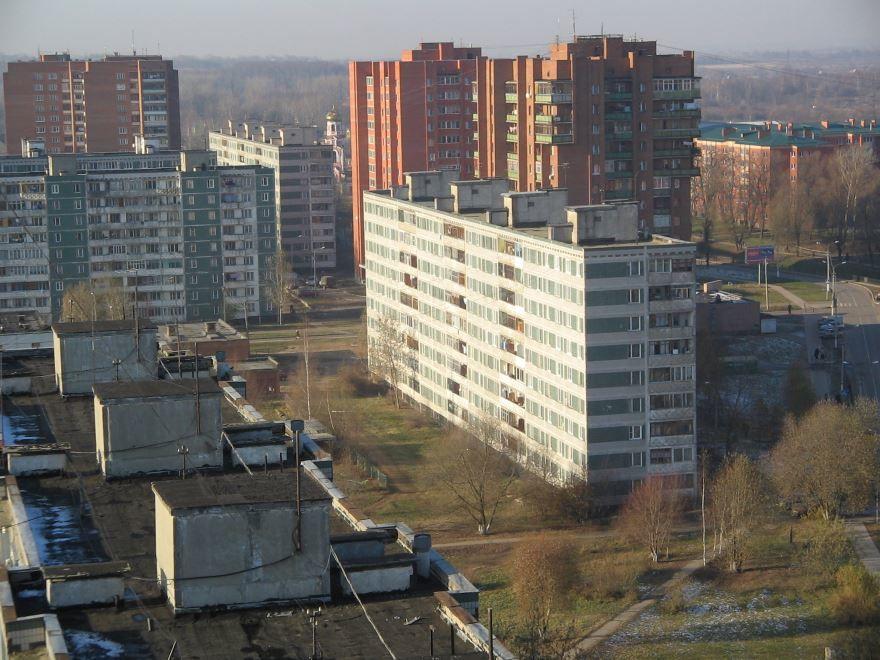 Микрорайон имени Маркова город Наро-Фоминск