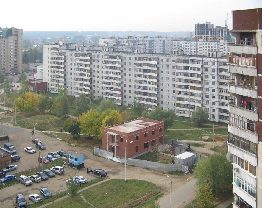 Микрорайон Мальково город Наро-Фоминск