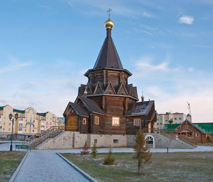 Богоявленский собор в городе Нарьян-Маре