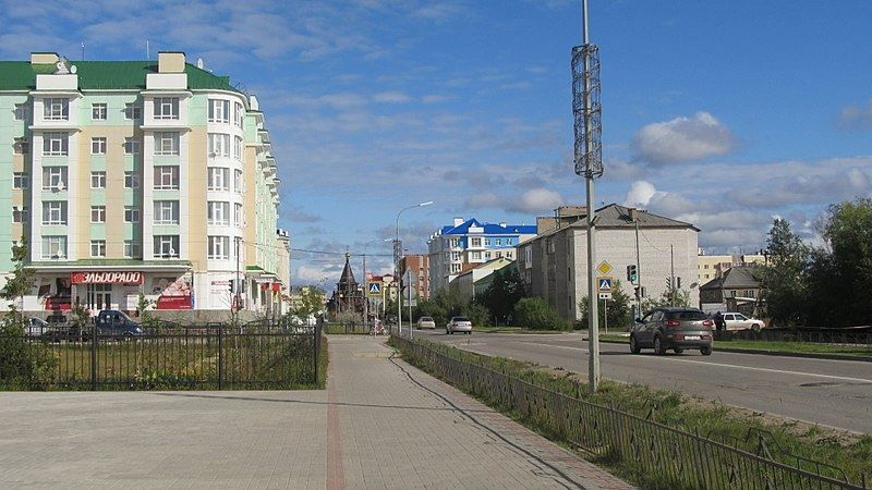 Скачать онлайн бесплатно красивое фото город Нарьян-Мар в хорошем качестве
