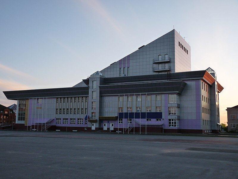 Здание Культурно-делового центра город Нарьян-Мар 2019