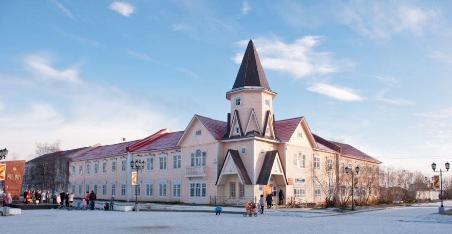 Здание почты город Нарьян-Мар