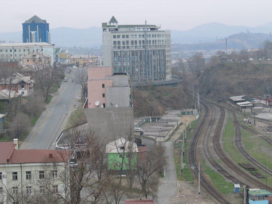Скачать онлайн бесплатно лучшее фото центр города Находка Приморский край