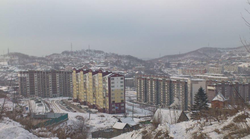 Смотреть красивое фото города Находка в хорошем качестве