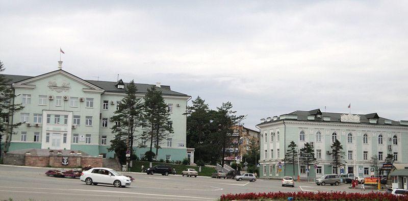 Здание администрации и Думы город Находка