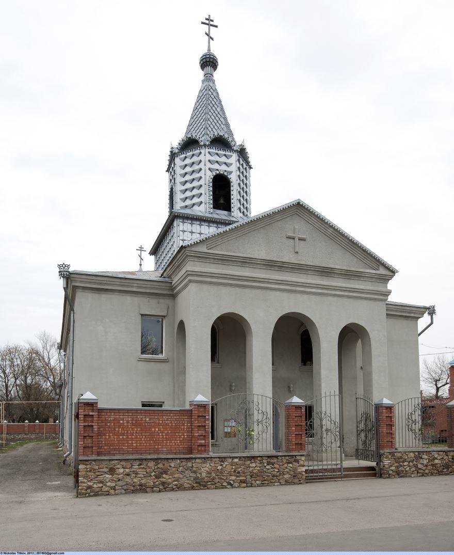 Церковь Казанской Иконы Божией Матери город Невинномысск