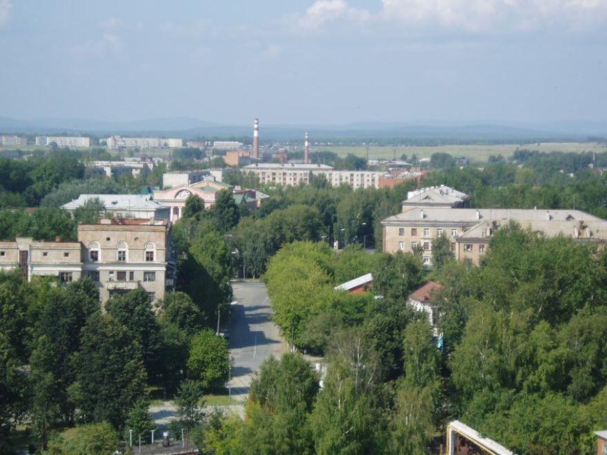 Скачать онлайн бесплатно лучше фото вид сверху город Невьянск 2019