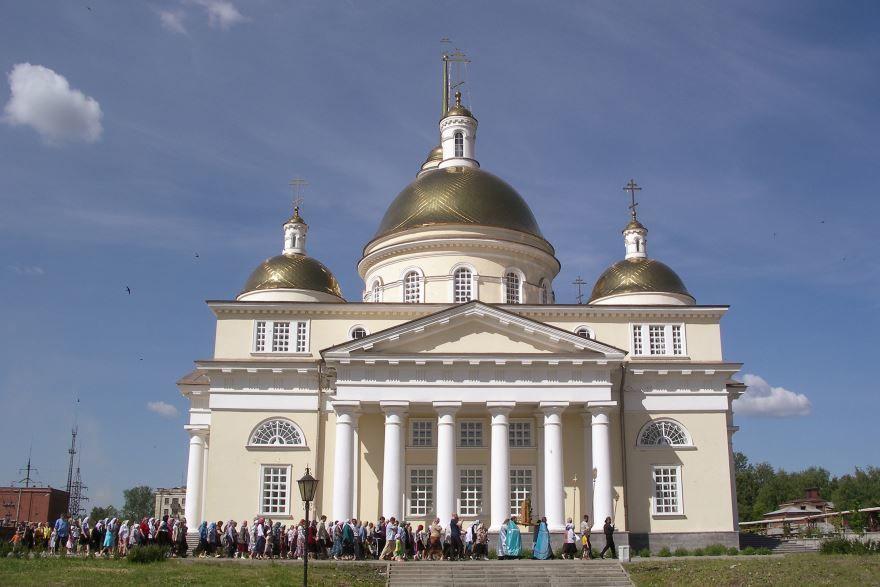 Церковь Преображения Господня город Невьянск