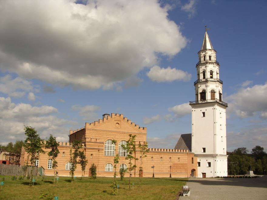 Музей истории Невьянского края и башня город Невьянск