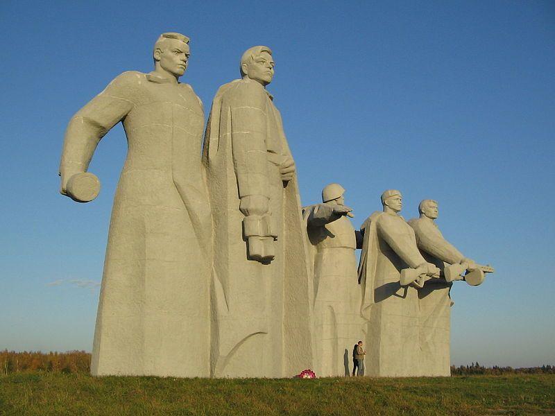 Смотреть лучшее фото Памятник панфиловцам в хорошем качестве