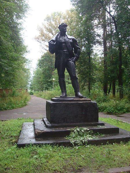 Памятник шахтеру город Нелидово