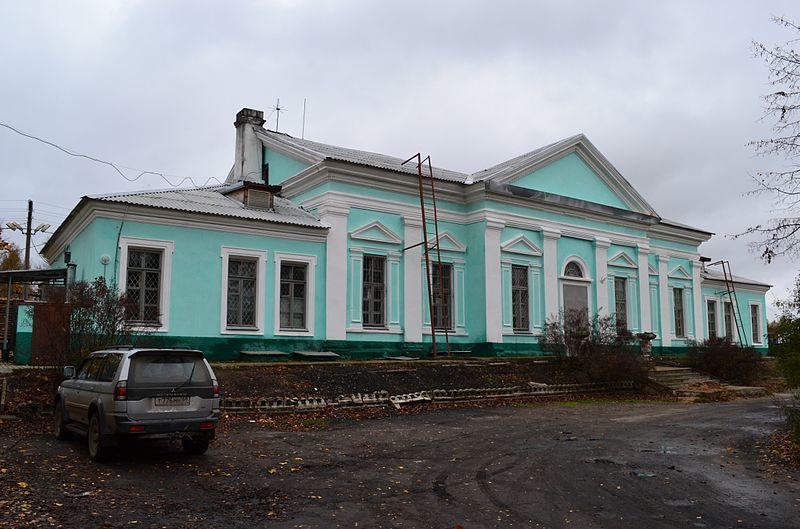 Железнодорожный вокзал город Нелидово 2019
