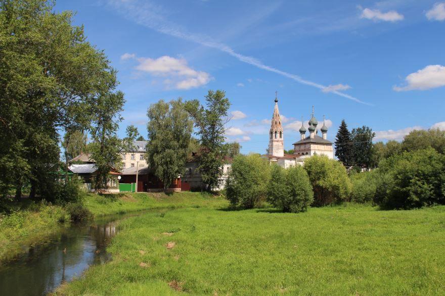 Никольская церковь город Нерехта