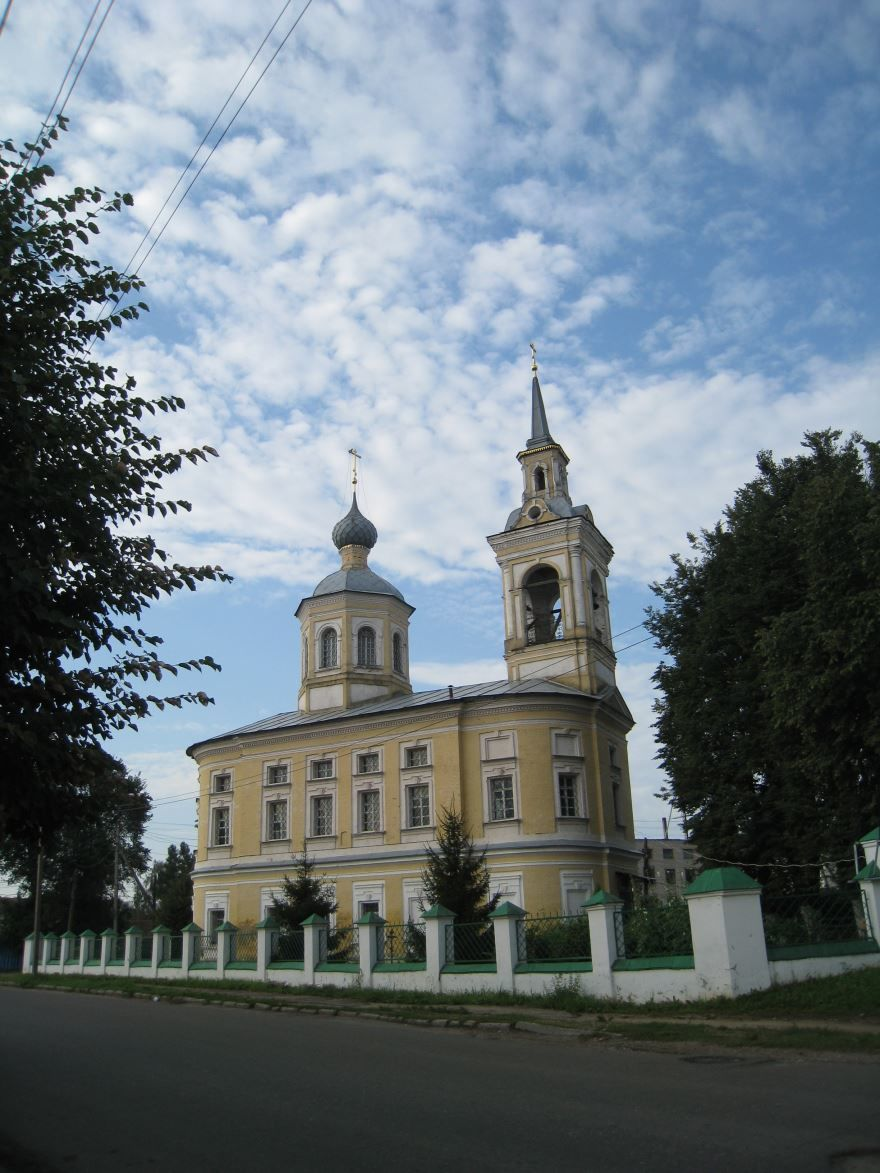 Преображенская церковь город Нерехта
