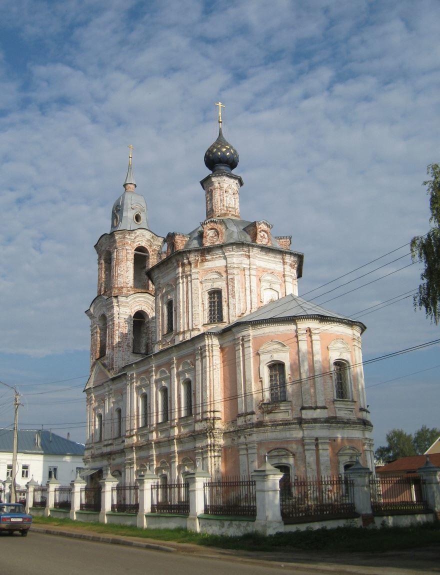 Варваринская церковь город Нерехта