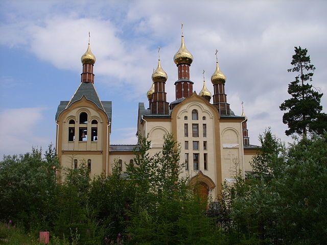 Храм Казанской иконы Божией Матери город Нерюнгри