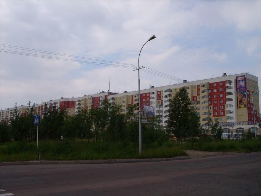 Китайская стена на улице Ленина город Нерюнгри