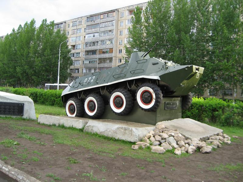 Памятник участникам боевых действий город Нефтекамск