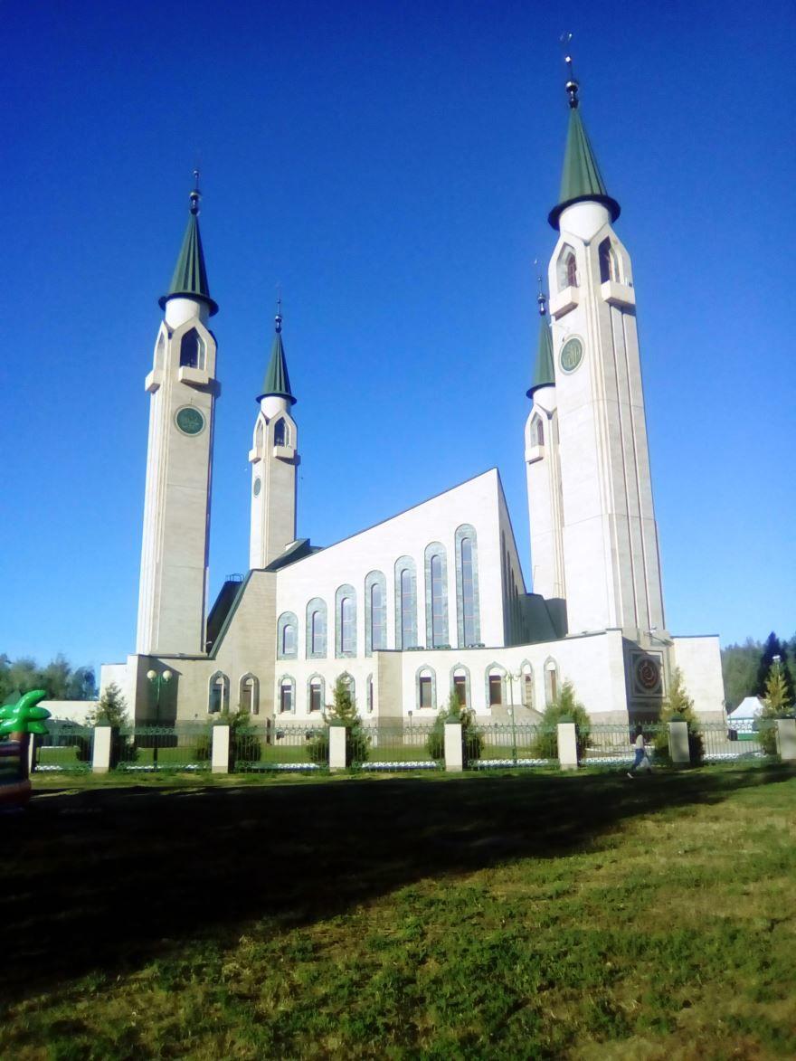 Соборная мечеть город Нижнекамск