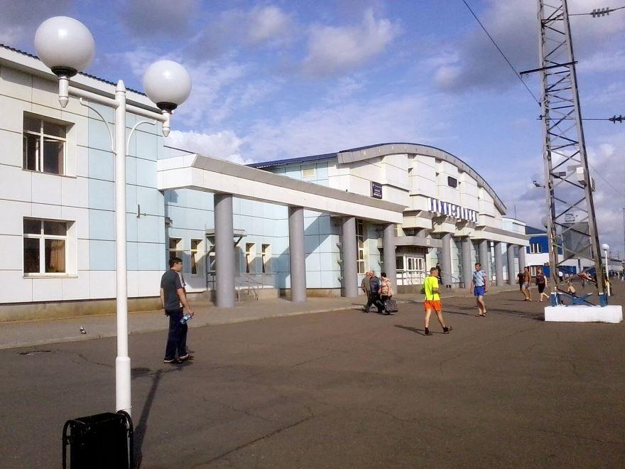 Скачать онлайн бесплатно лучшее фото города Нижнеудинска железнодорожный вокзал