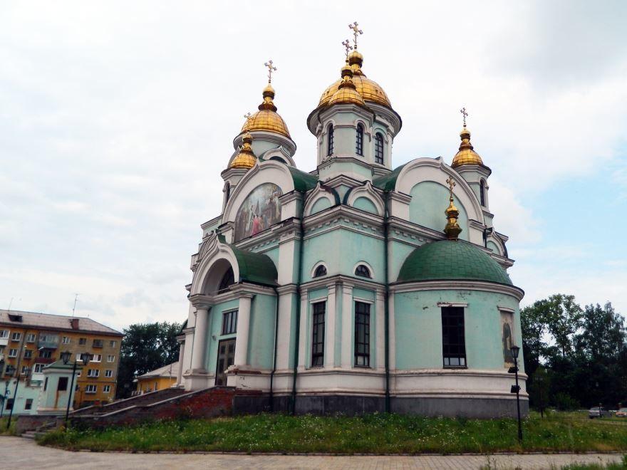Церковь Сергия Радонежского город Нижний Тагил