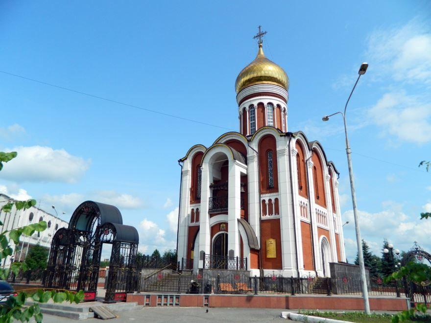 Храм памятник Дмитрия Донского город Нижний Тагил