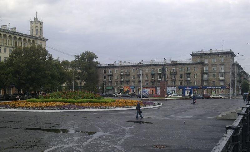 Смотреть лучшее фото города Новокузнецк площадь города
