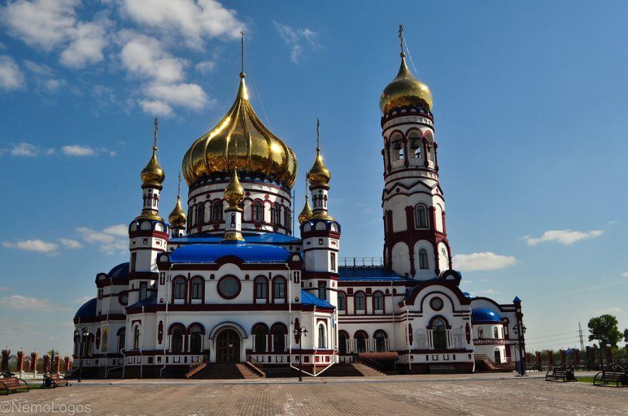 Собор Рождества Христова город Новокузнецк