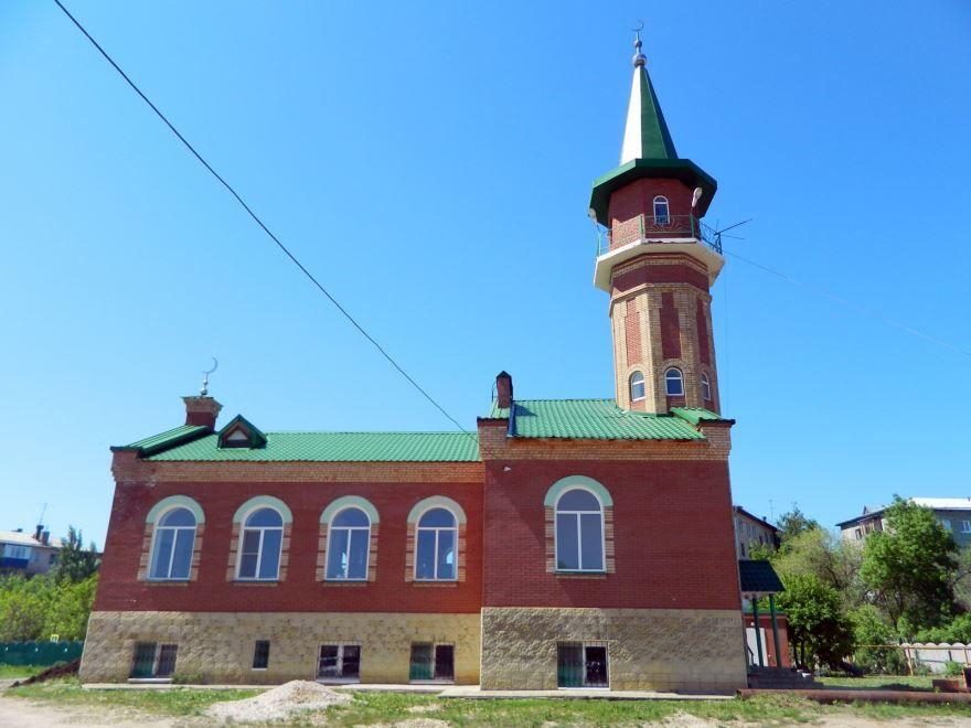 Мечеть город Новокубышевск