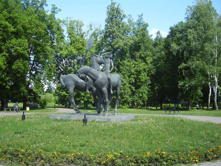 Архитектурный комплекс Исток Дона город Новомосковск
