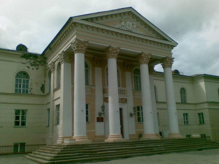Дворец пионеров город Новомосковск